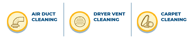 Annual Maintenance Program  10% Savings Off Regular Price   air Duct Cleaning 5 Years   Carpet Cleaning 5 Years   Dryer Vent Cleaning 5 Years